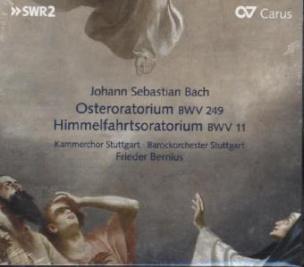 Osteroratorium BWV 249 / Himmelfahrtsoratorium BWV 11, 1 Audio-CD