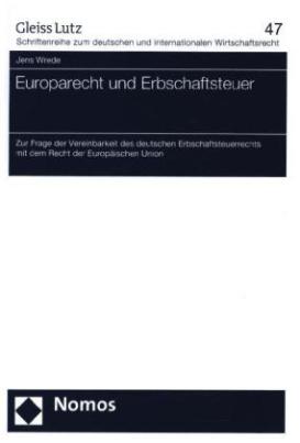 Europarecht und Erbschaftsteuer
