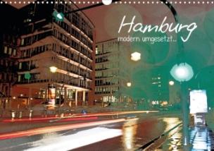 Hamburg - modern umgesetzt... (Posterbuch DIN A3 quer)