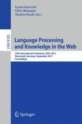 Language Processing and Knowledge in the Web