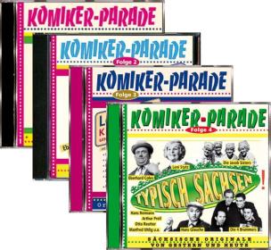 Kombi Komikerparade 1-4
