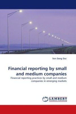 Financial reporting by small and medium companies