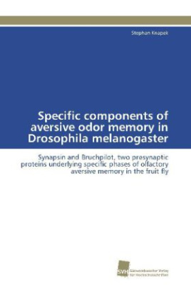 Specific components of aversive odor memory in Drosophila melanogaster