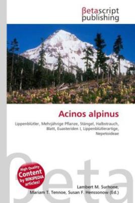Acinos alpinus