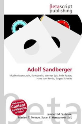 Adolf Sandberger