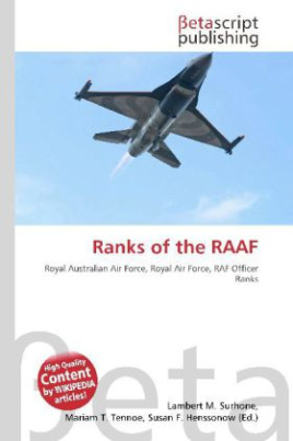 Ranks of the RAAF
