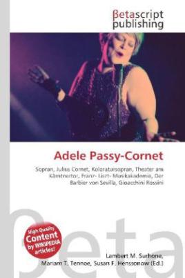 Adele Passy-Cornet