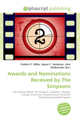 Awards and Nominations Received by The Simpsons