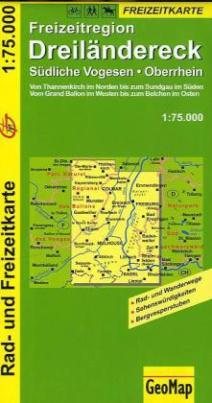 GeoMap Karte Freizeitregion Dreiländereck