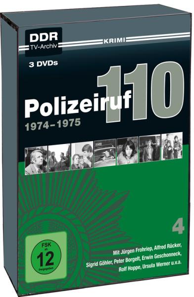 Polizeiruf 110 - Box 4 (DDR TV-Archiv) (3DVD´s)