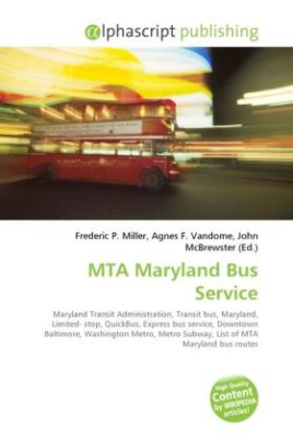 MTA Maryland Bus Service
