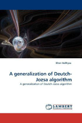 A generalization of Deutch-Jozsa algorithm