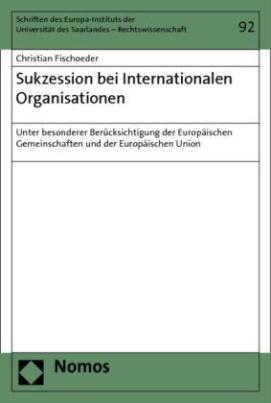 Sukzession bei Internationalen Organisationen