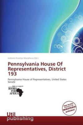 Pennsylvania House Of Representatives, District 193