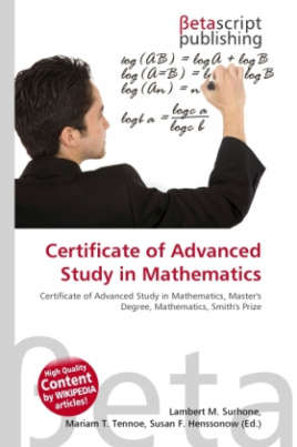 Certificate of Advanced Study in Mathematics
