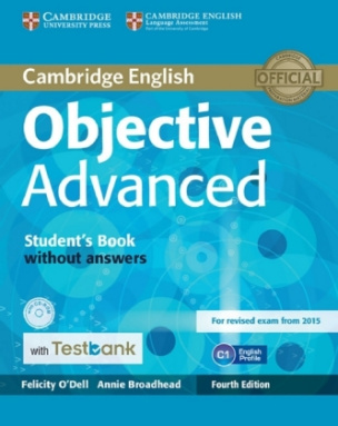 Student's Book without answers, with CD-ROM and Testbank