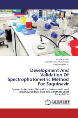 Development And Validation Of Spectrophotometric Method For Saquinavir