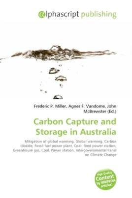 Carbon Capture and Storage in Australia