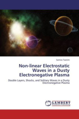 Non-linear Electrostatic Waves in a Dusty Electronegative Plasma