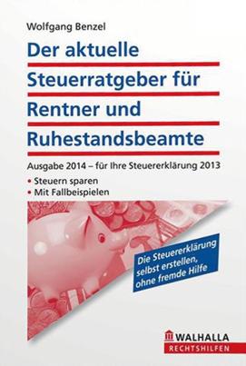 Der aktuelle Steuerratgeber für Rentner und Ruhestandsbeamte (TB)