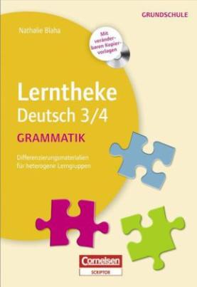 Lerntheke Deutsch 3/4: Grammatik, m. CD-ROM