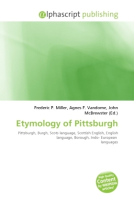 Etymology of Pittsburgh