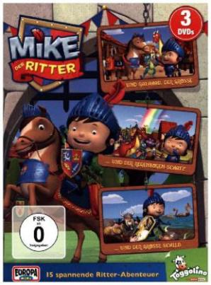 Mike, der Ritter, 3 DVDs. Folge.1-3