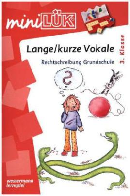 Lange/kurze Vokale: Rechtschreibung Grundschule ab 3.Klasse