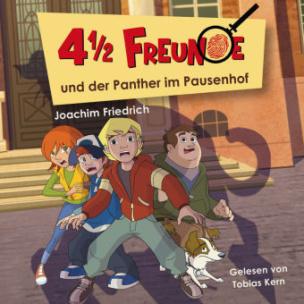 4 1/2 Freunde und der Panther im Pausenhof, 1 Audio-CD