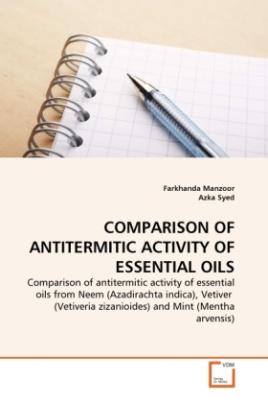 COMPARISON OF ANTITERMITIC ACTIVITY OF ESSENTIAL OILS
