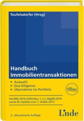 Handbuch Immobilientransaktionen (f. Österreich)