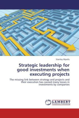 Strategic leadership for good investments when executing projects