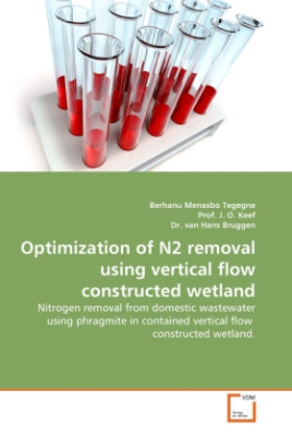 Optimization of N2 removal using vertical flow constructed wetland
