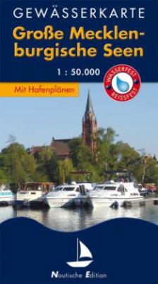 Gewässerkarte Große Mecklenburgische Seen