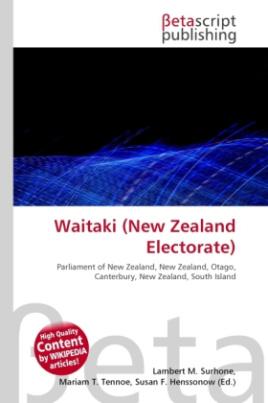 Waitaki (New Zealand Electorate)