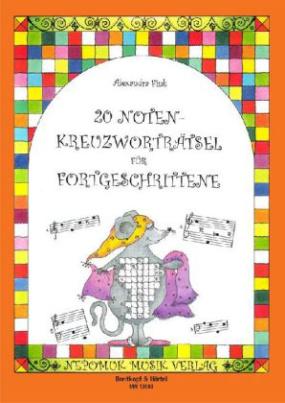 20 Noten-Kreuzworträtsel. H.2