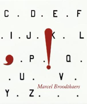 Marcel Broodthaers. Livre d'image. Bilderbuch