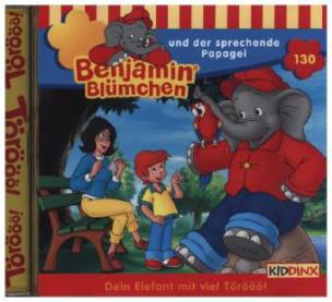 Benjamin Blümchen - ... und der sprechende Papagei, 1 Audio-CD