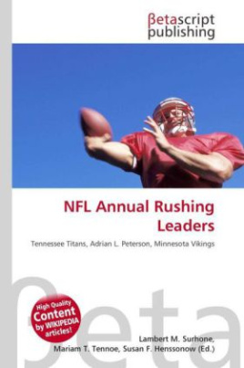 NFL Annual Rushing Leaders