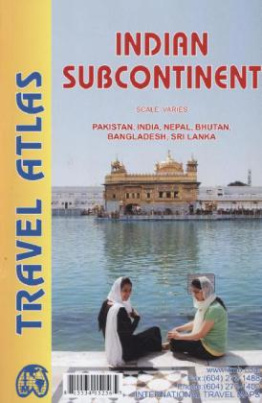 ITM Travel Atlas Indian Subcontinent