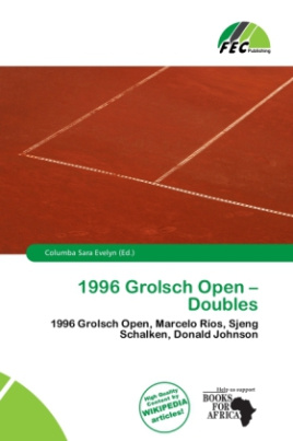 1996 Grolsch Open - Doubles