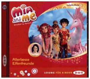 Mia and me - Allerbeste Elfenfreunde, 1 Audio-CD