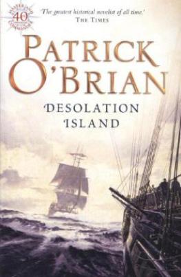 Desolation Island. Sturm in der Antarktis, englische Ausgabe