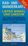 Rad- und Wanderkarte: Lieper Winkel und Usedom