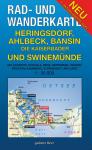 Rad- und Wanderkarte: Heringsdorf, Ahlbeck, Bansin