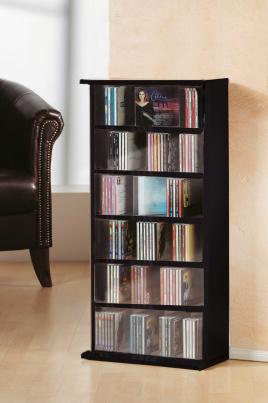 """CD-Regal """"Vostan - schwarz"""" für 150 CDs"""